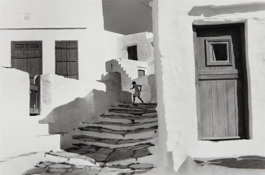 Henri Cartier-Bresson, Île de Sifnos, Grèce 1961